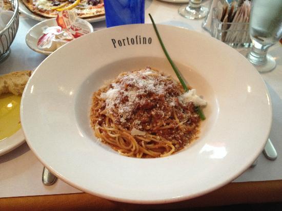 Restaurant Portofino Bistro : Spaghetti Bolognese
