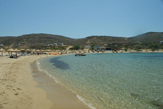 Manganari Beach: la spiaggia
