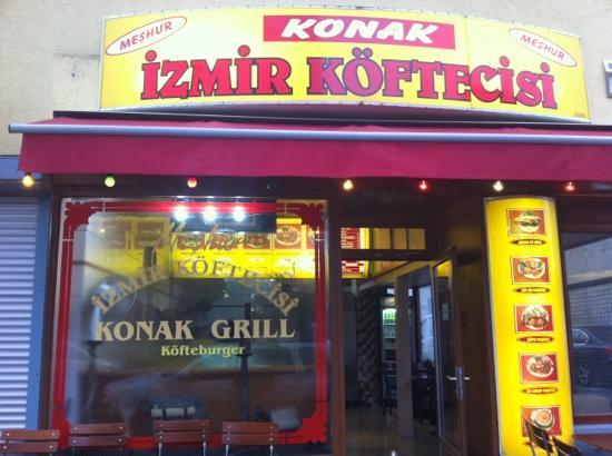 Izmir Koeftecisi Konak Grill: Best Köfte Burger
