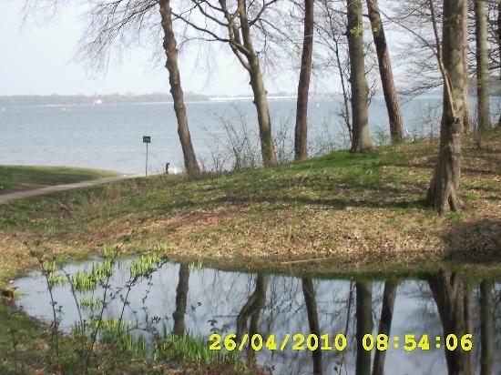 Kurhaus Devin: Blick aus dem Wintergarten