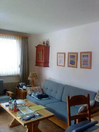 Chesa Bellaval Aparthotel: canape