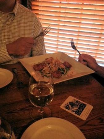 Fish Bones American Grill: Coconut Shrimp Appetizer