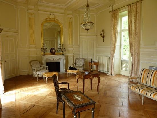 Château des Tesnières : Le grande salon