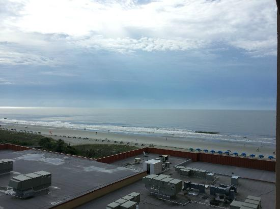 Embassy Suites by Hilton Myrtle Beach-Oceanfront Resort: One more view from north side, so you can see exactly what it is