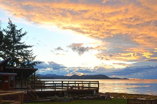 The Haven Resort: Sunsets are spectacular at The Haven