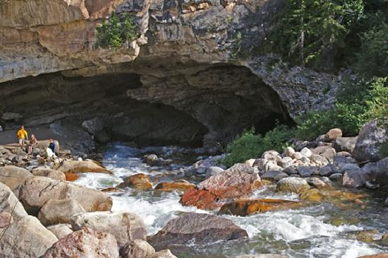 Lander, WY: Sinks Canyon State Park
