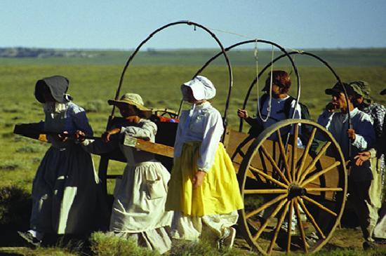 Lander, WY: Travel historic trails