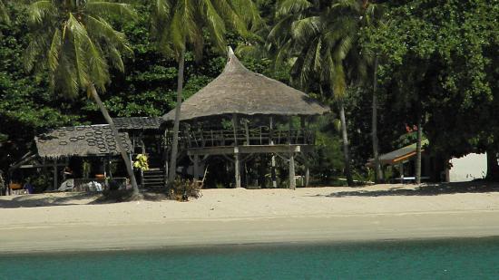 CC Beach Bar and restaurant: Charmante paillote à proximité de cc beach resort