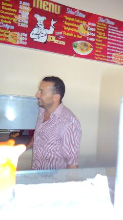 pizza uno  jamil hamdami : mre jamil le bos