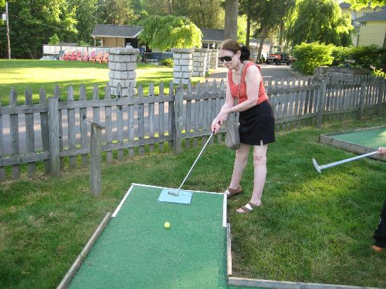 Twin Birches: Miniature golf