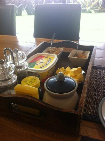 City Lights Boutique Lodge: breakfast