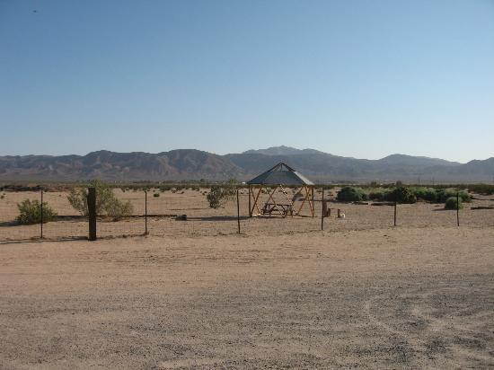 Barstow Calico KOA: Desert View