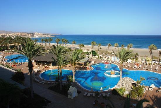SBH Costa Calma Palace: Piscine e spiaggia