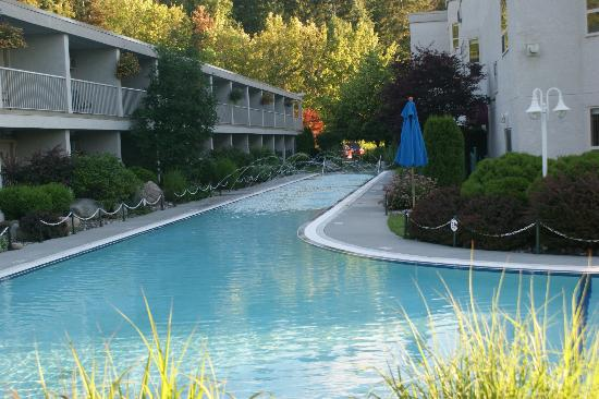 Hilltop Inn: huge pool