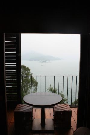 The Lalu Sun Moon Lake: View from suite sitting area