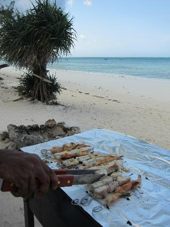Boutique Hotel Matlai: Seafood barbecue barbecue de fruits de mer