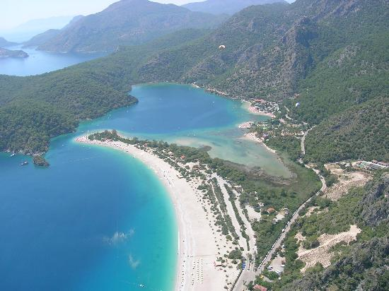 NOA Hotels Oludeniz Resort Hotel: Тоже вид сверху