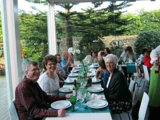 Paladares da quinta: Dinner in a great setting