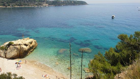 Le Roquebrune: beach near hotel