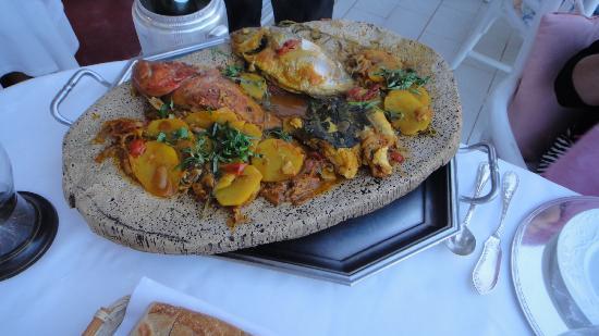 Le Roquebrune: dinner