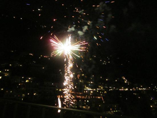 Casa Cosenza: Fireworks