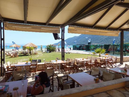 Club Vassiliki : View from the bar