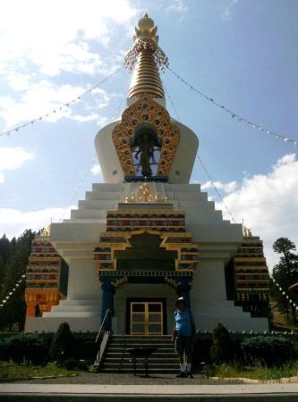 Shambhala Mountain Center : Great Stupa of Dharmakya