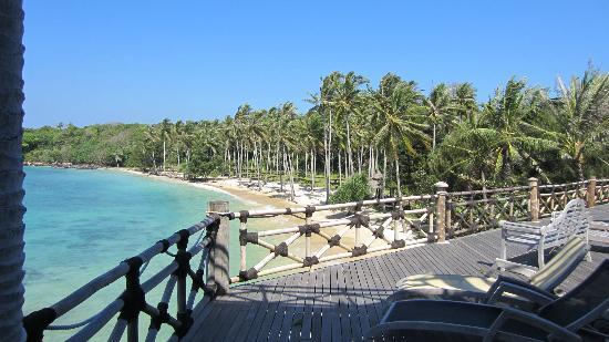Nirwana Laut Resort: Nirwana Beach, view from the terrace