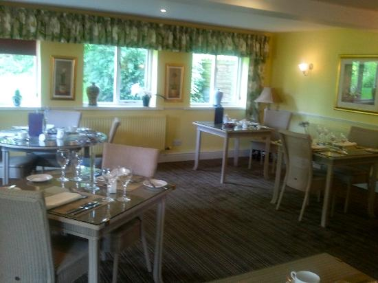 Wilton Court Hotel: The Dining Room