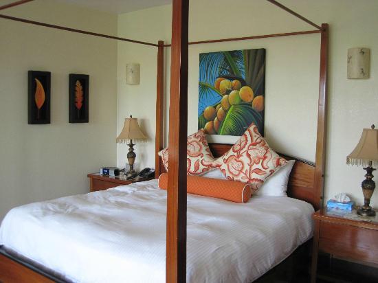San Ignacio Resort Hotel: Master Suite Bed