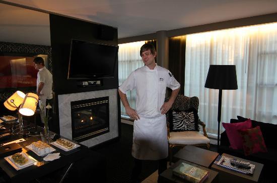 Opus Hotel: chef