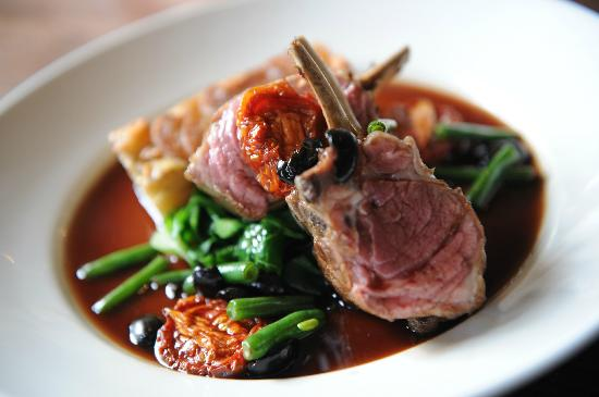 The Stag at Offchurch: Spring lamb