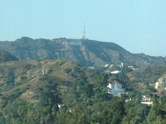 Loews Hollywood Hotel: view from our room