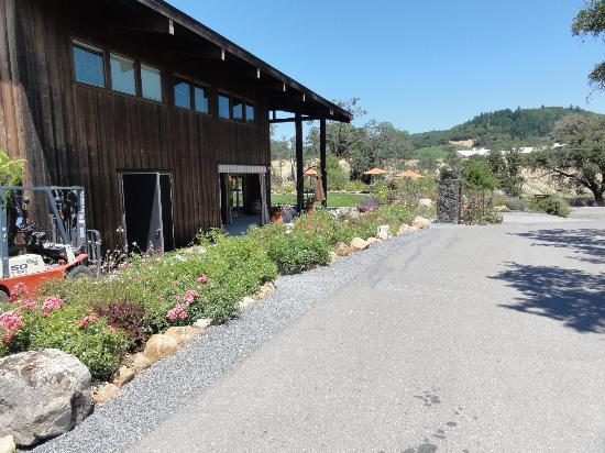 Mazzocco Sonoma: Winery is on Lytton Spring Rd.