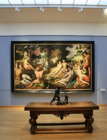 Frans Hals-museet: Een schilderij uit Haarlem in de periode voor Frans Hals