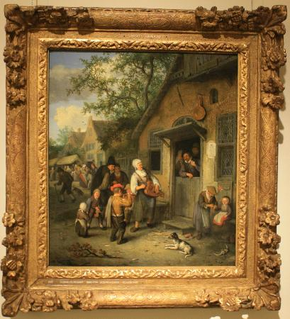 Muzeum Fransa Halsa: Een schilderij gemaakt door derden