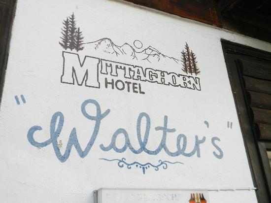 Hotel Mittaghorn: walters!