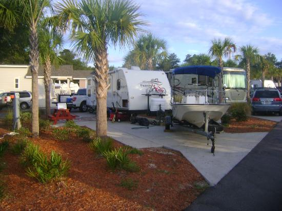 Carrabelle, Floryda: Nice RV sites