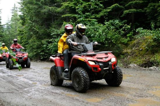 Whistler, Canada: TAG ATV on the trail