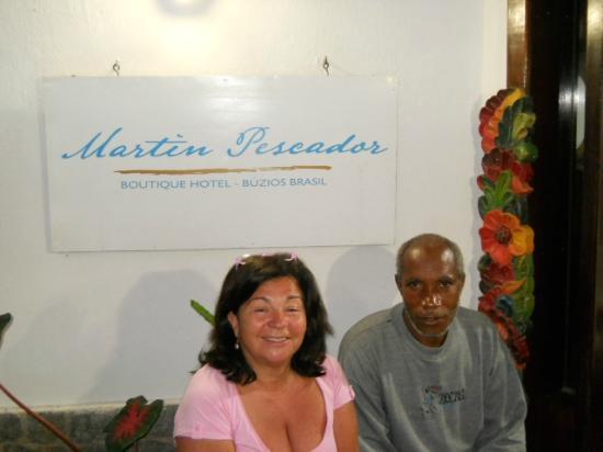 Martin Pescador: Antonio te ayuda de madrugada