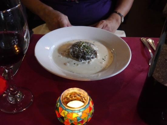 Fern Cottage Restaurant: haggis