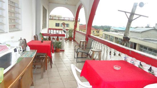 Rosa's Hotel: Balconi