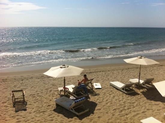 Claro de Luna Hotel: private beach