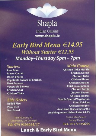 Shapla Indian Restaurant
