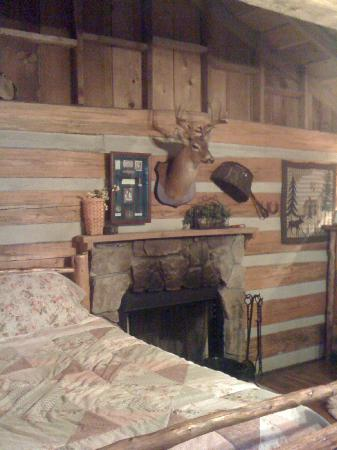 ‪‪Silver Dollar City's Wilderness‬: Inside our Cabin