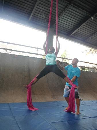 Kaiceitos Circus School: Aerial Silks