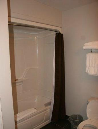 Gros Morne Suites: Large shower / tub