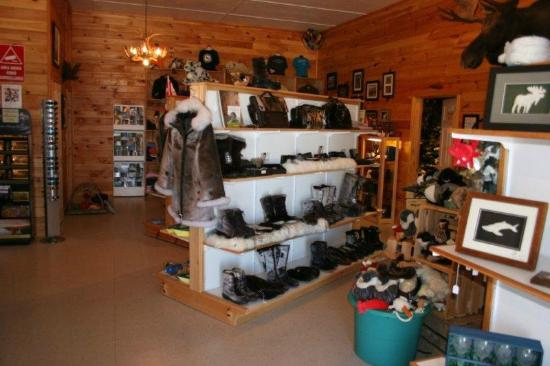 Gros Morne Suites: More of the shop