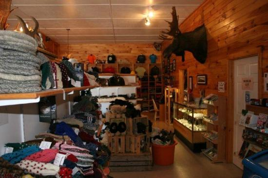 Gros Morne Suites: The shop.