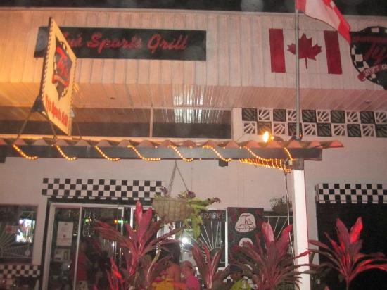 Ty's Sports Grill: Oh Canada... our home and native land :)